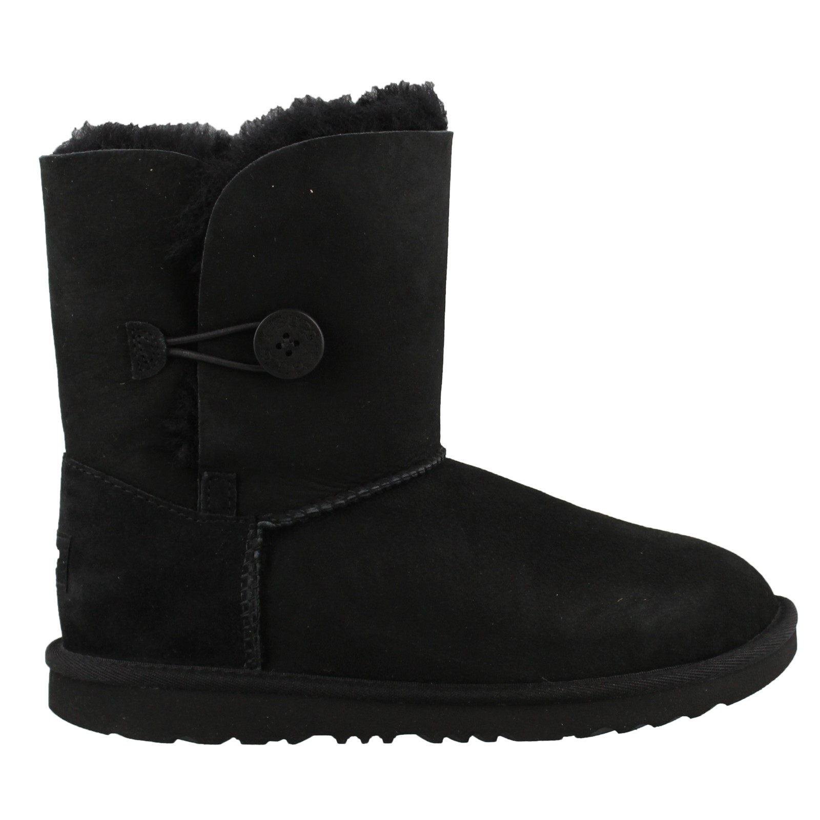 Girl's Ugg Kids, Bailey Button II Sheepskin Boots