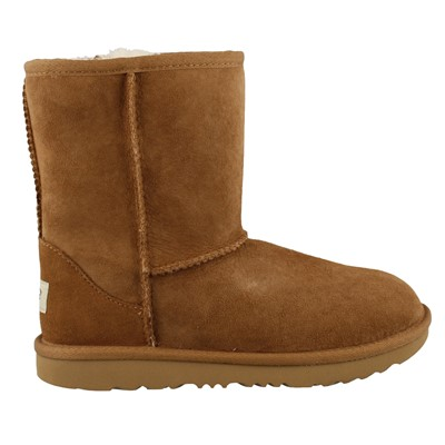 Girl's Ugg Kids, Classic Short II Sheepskin Boots