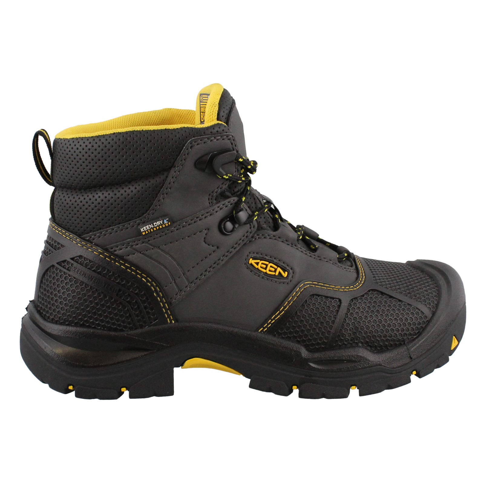 Men's Keen, Logandale Mid Waterproof Steel Toe Boots