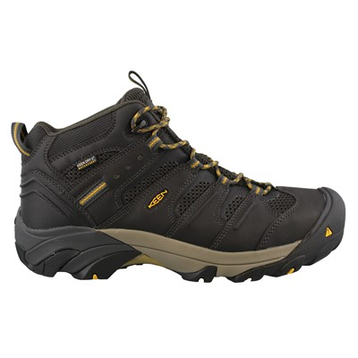 Men's Keen, Lansing Mid Waterproof Steel Toe Mid Work Shoes