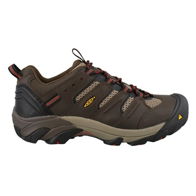 Men's Keen, Lansing Low Waterproof Steel Toe Mid Work Shoes