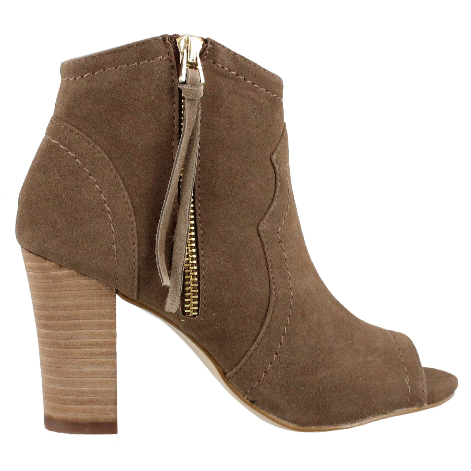 Women's XOXO, Barron Peep-Toe Ankle Boot