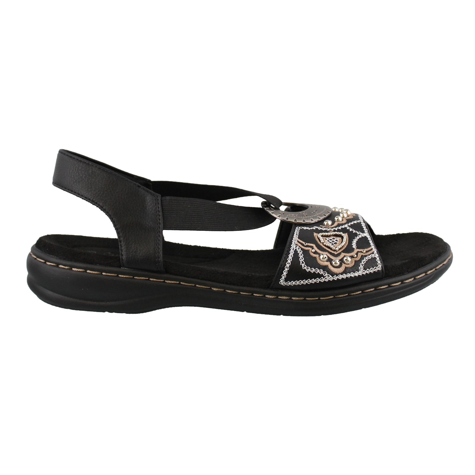 Women's Cushion Aire, Brittany Low Heel Sandals