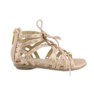 Girl's Kenneth Cole Reaction, Bright Ghillie Sandals