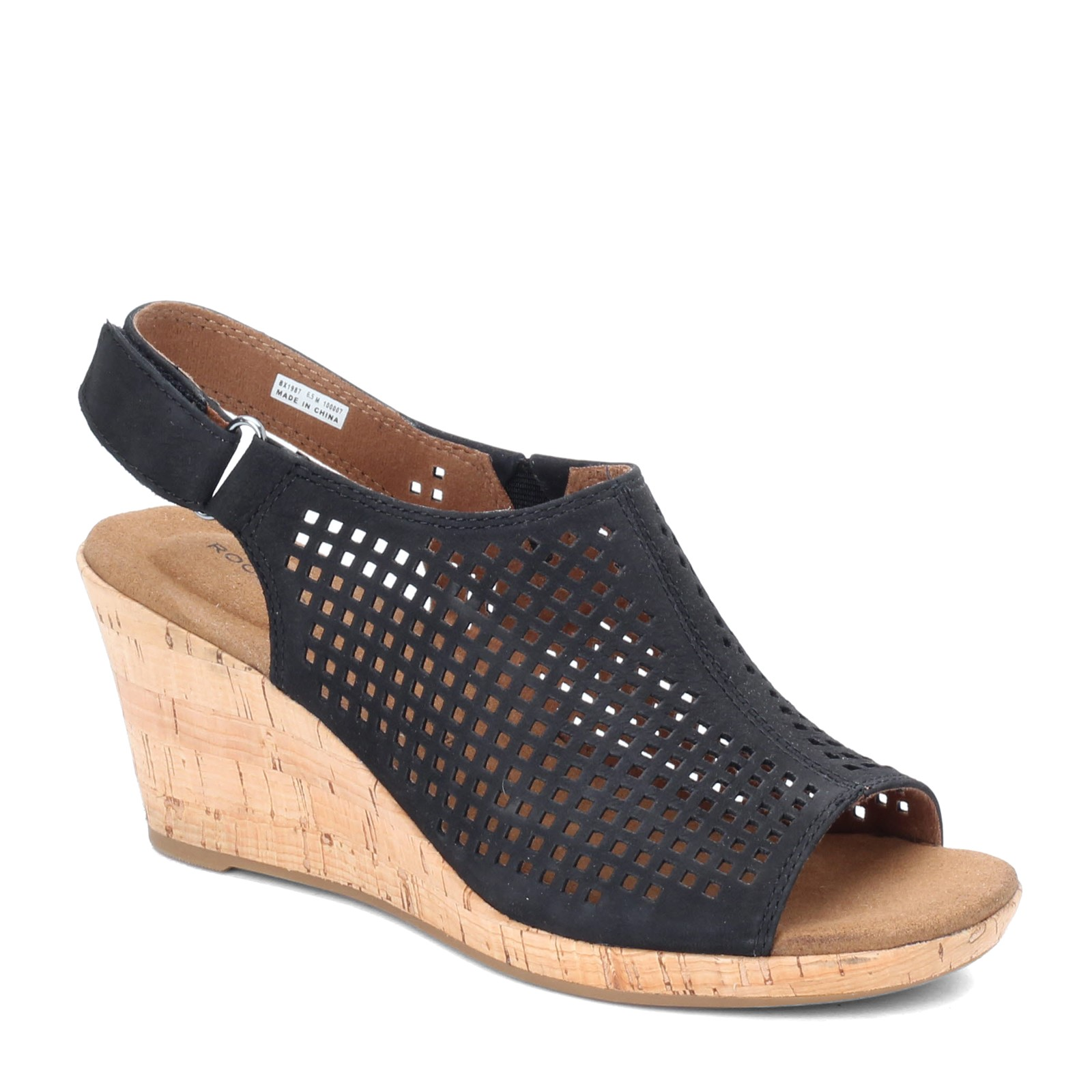 Women's Rockport, Briah Perf Sling Wedge