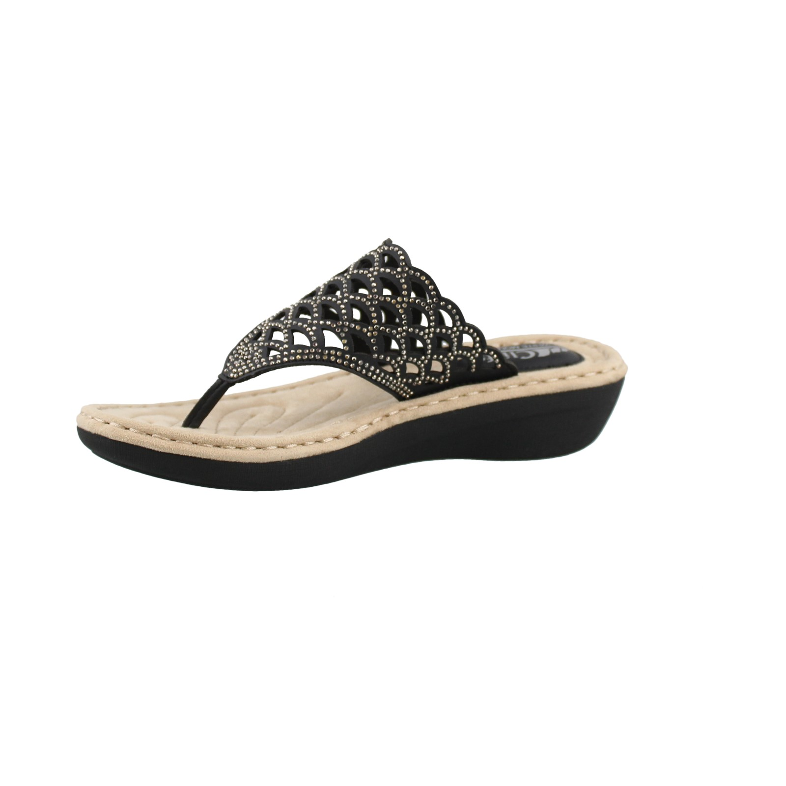 Women S Cliffs By White Mountain Cameo Thong Sandals