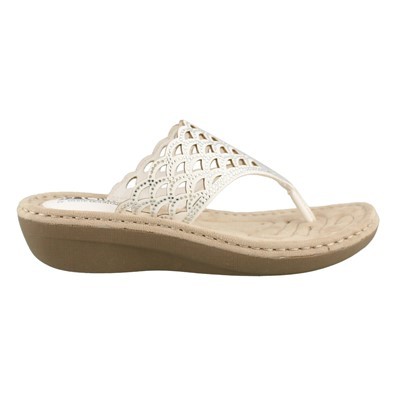 Women's Cliffs by White Mountain, Cameo Thong Sandals