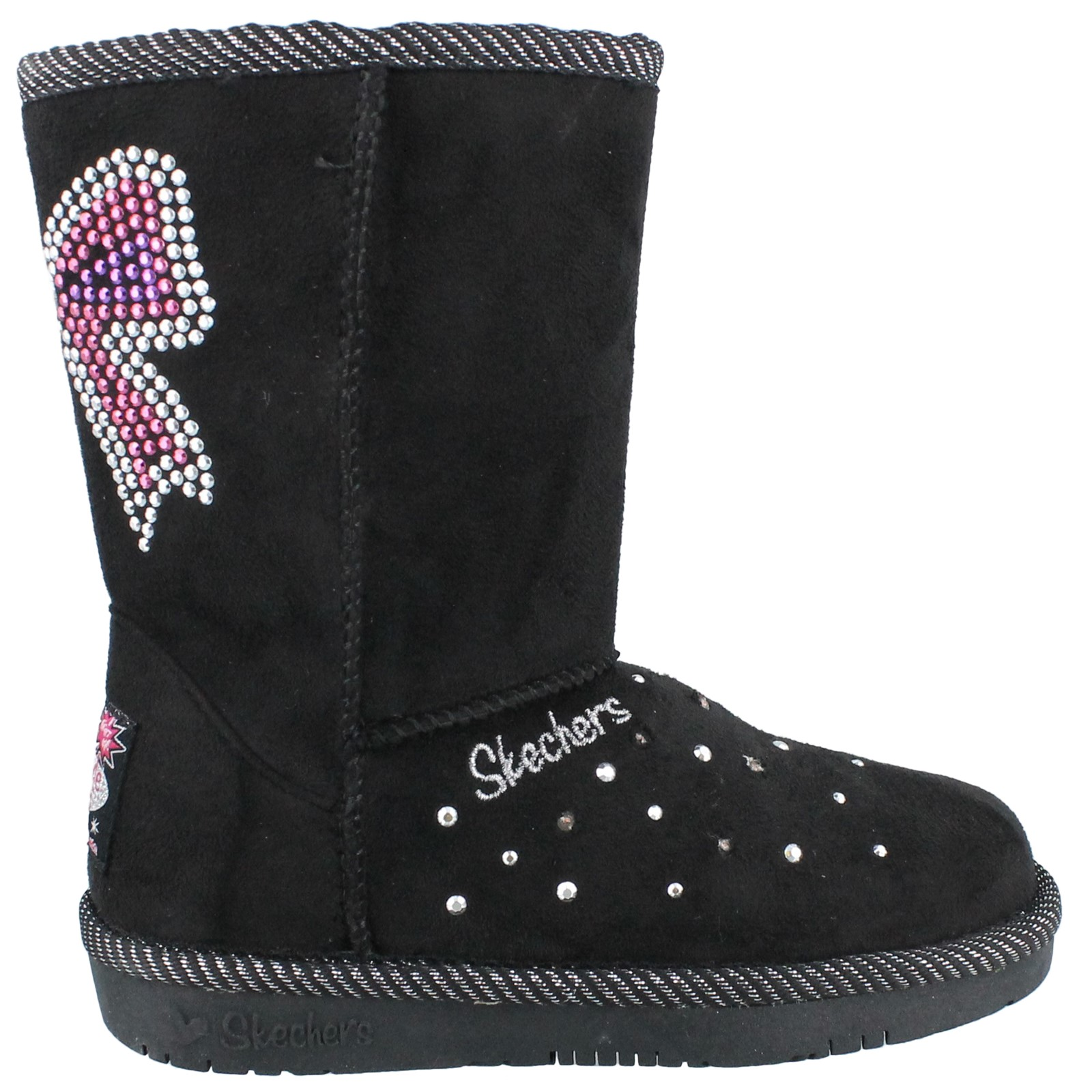 Girl's Skechers, S Lights Glamslam Bow Dazzle Light up Boot