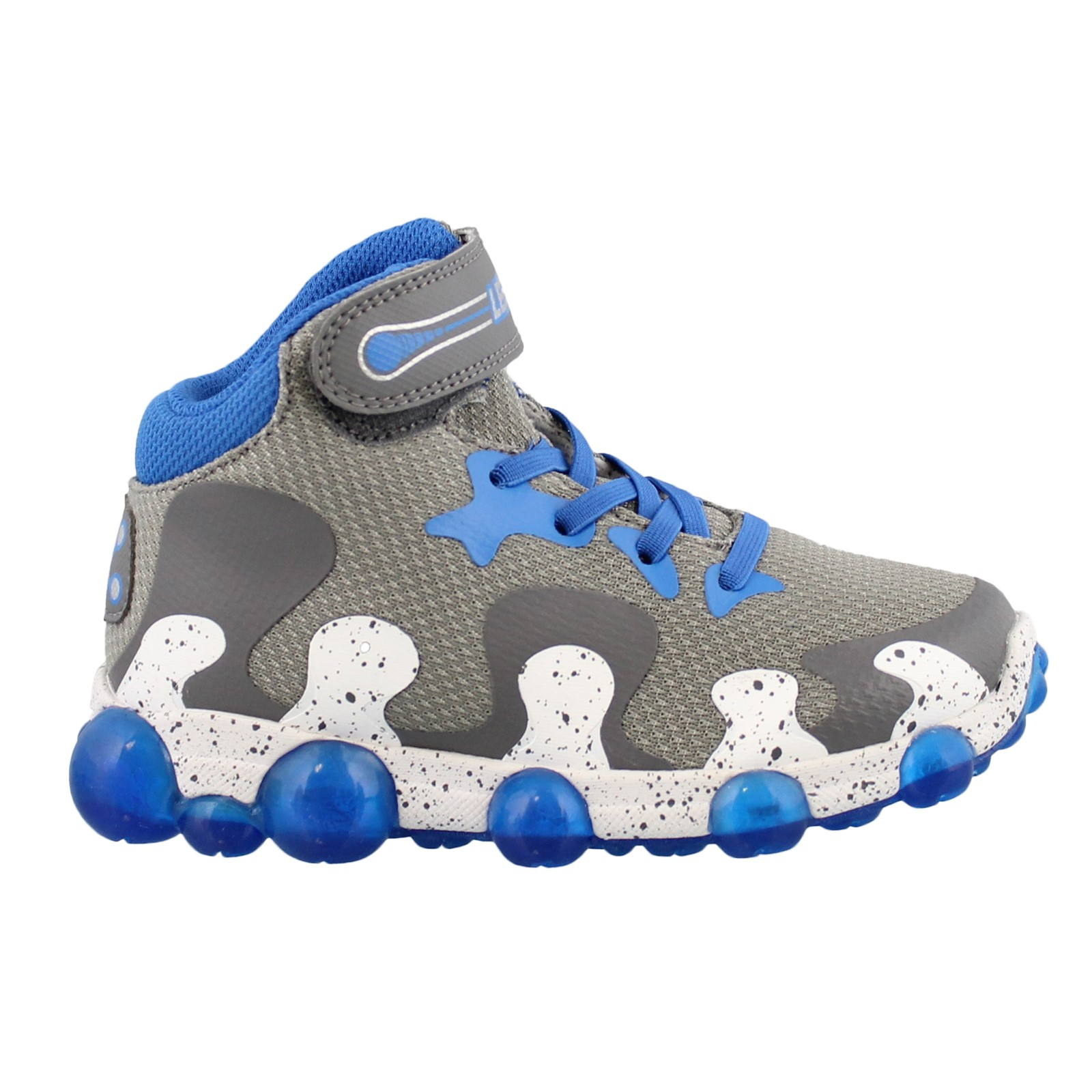 Boy's Stride Rite, Leepz 2.0 High Top Light Up Athletic Sneaker