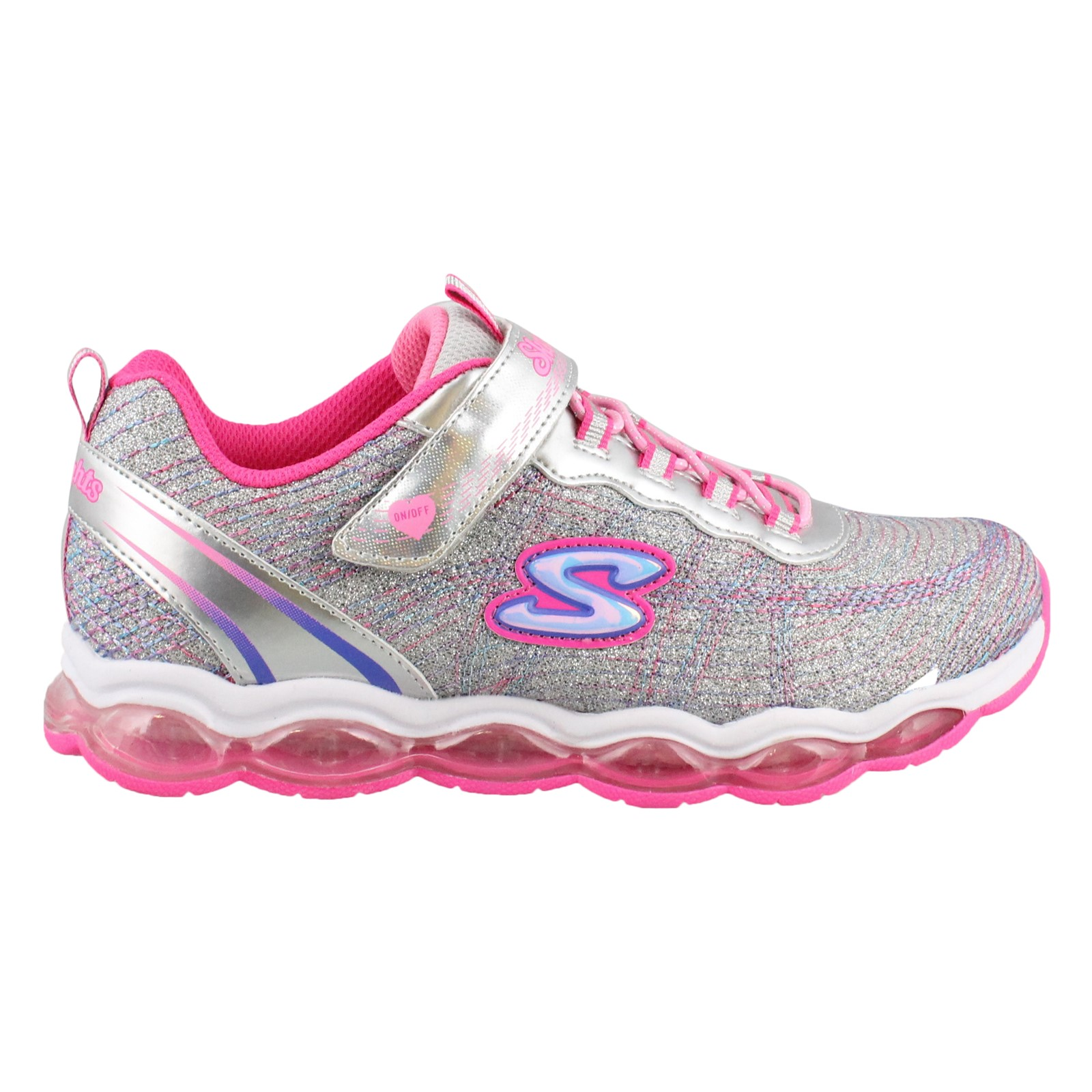 Girl's Skechers, S Lights Glimmer Lites Sneakers