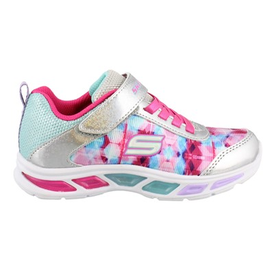 Girl's Skechers, S Lights Litebeams Dance n Glow Sneaker