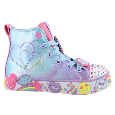 Girl's Skechers, Twinkle Toes Happy Lights Shoes