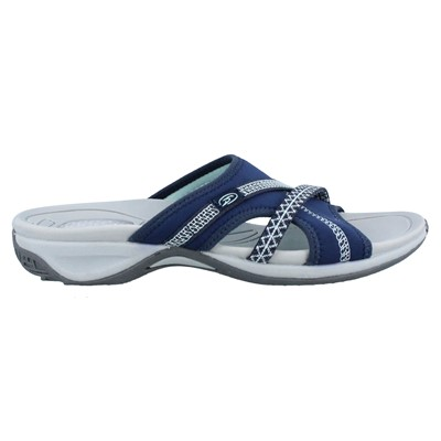 Women's Dr Scholl's, Pacific Slide Sandal This sporty slide is ready to tackle