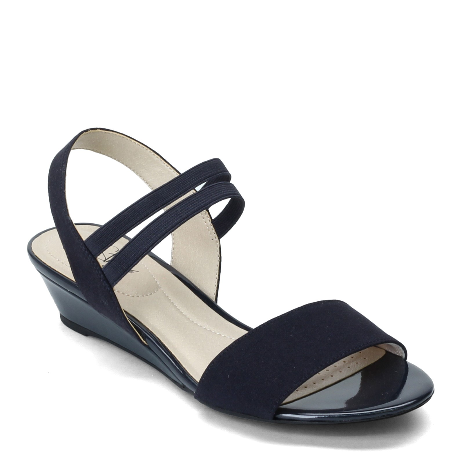 ddffeb80aa Home; Women's Lifestride, Yolo Low Wedge Sandals. Previous. default view ...