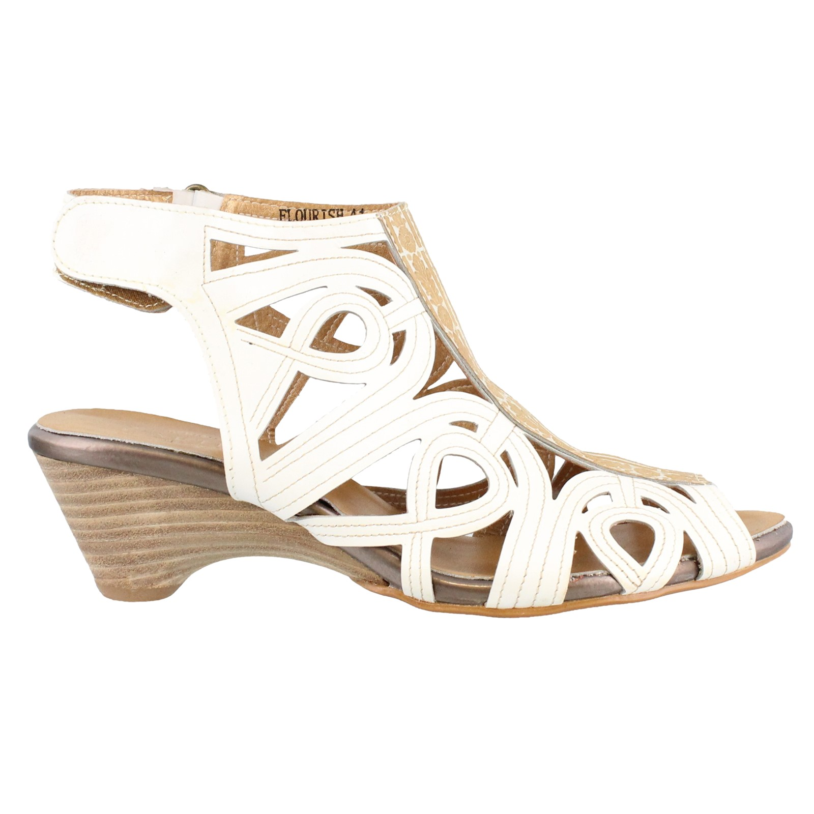 Women's L'artiste by Spring Step, Flourish Mid Heel Sandals