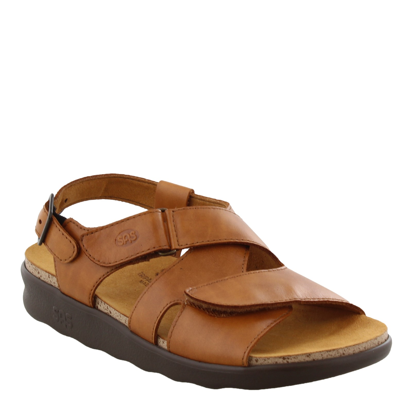 Women's SAS, Huggy Cross Strap Sandal