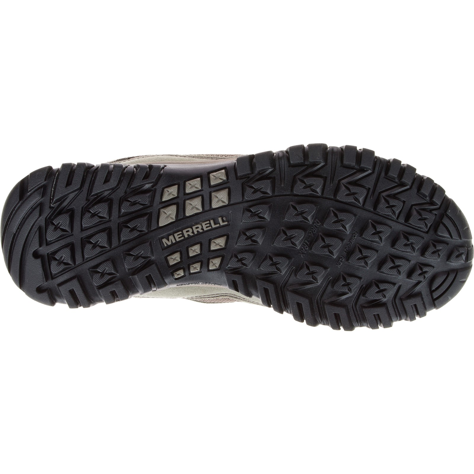 Mens Merrell Phoenix Bluff Putty Suede Lace Up Trainers