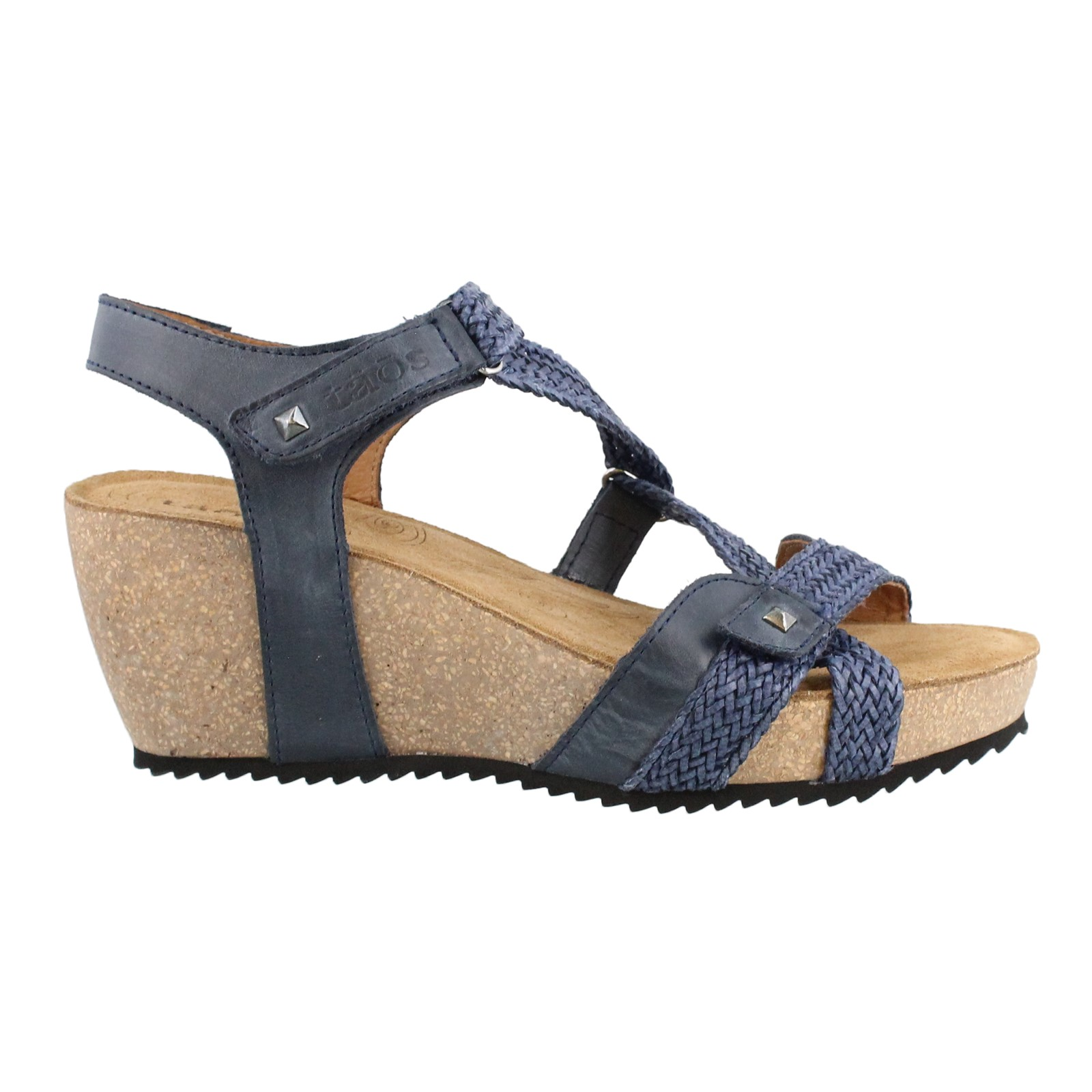 Women's Taos, Julia Mid Heel Wedge Sandals