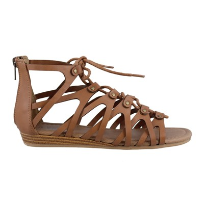 Girl's Sugar by Rampage, Caramel Gladiator Sandals