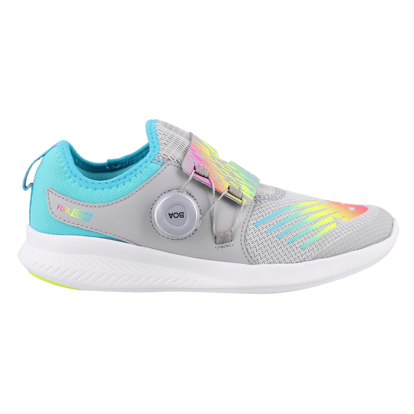 Girl's New Balance, Fuel Core Boa Sneakers
