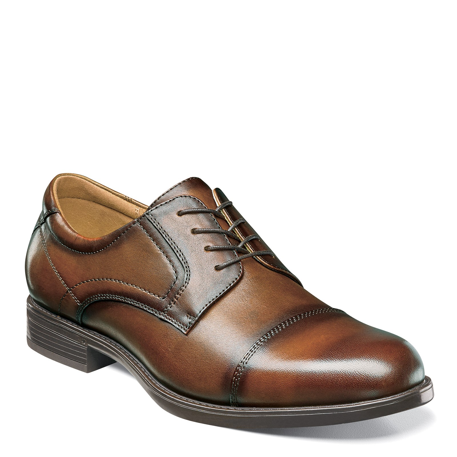 Men's Florsheim, Midtown Cap Toe Lace up Oxfords