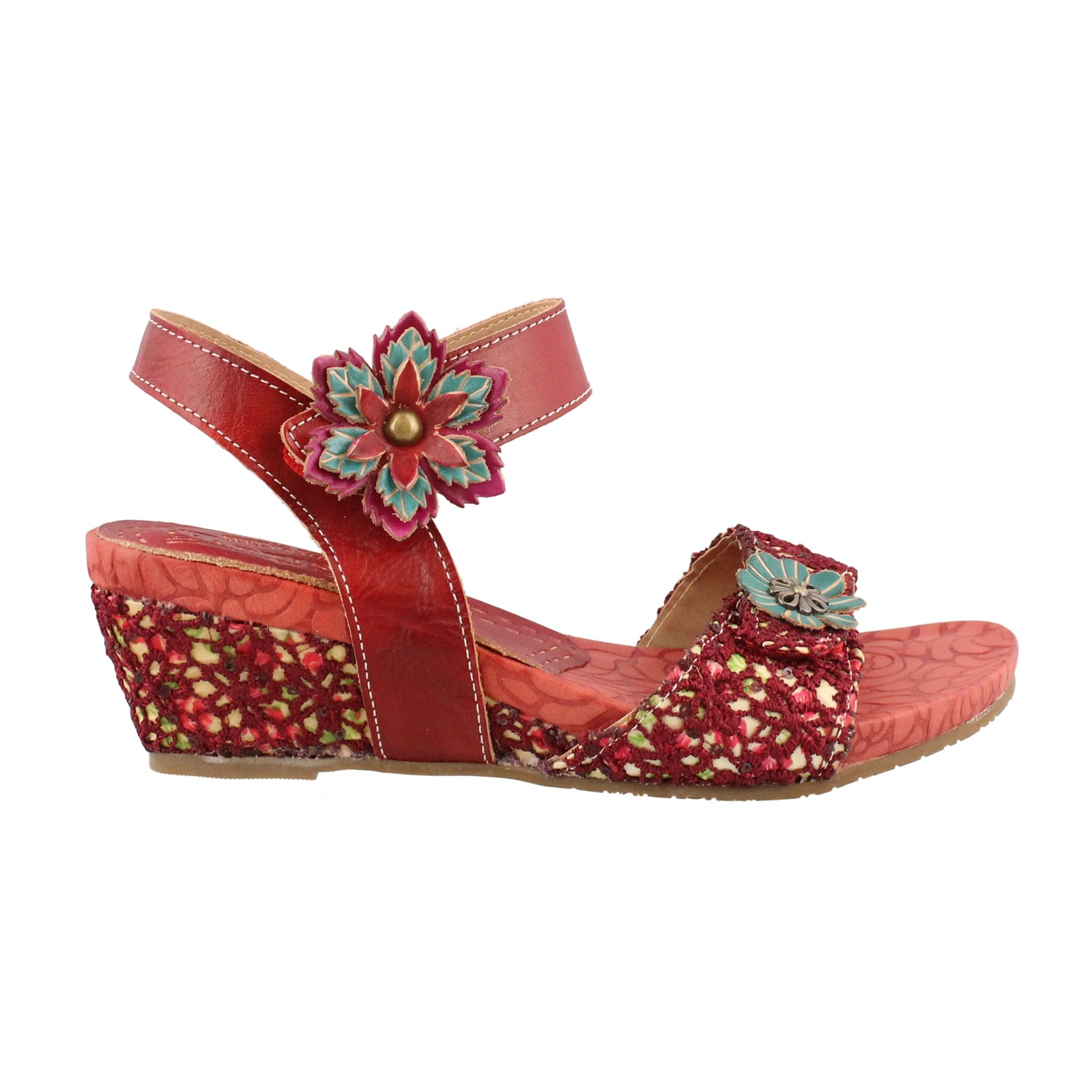 Women's L'Artiste by Springstep, Laisis Mid Heel Sandals