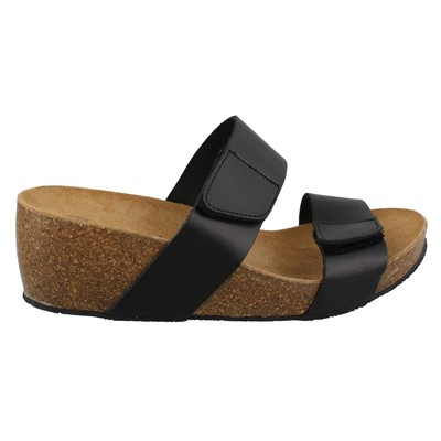 Women's Eric Michael, Liat2 band slide style Sandals