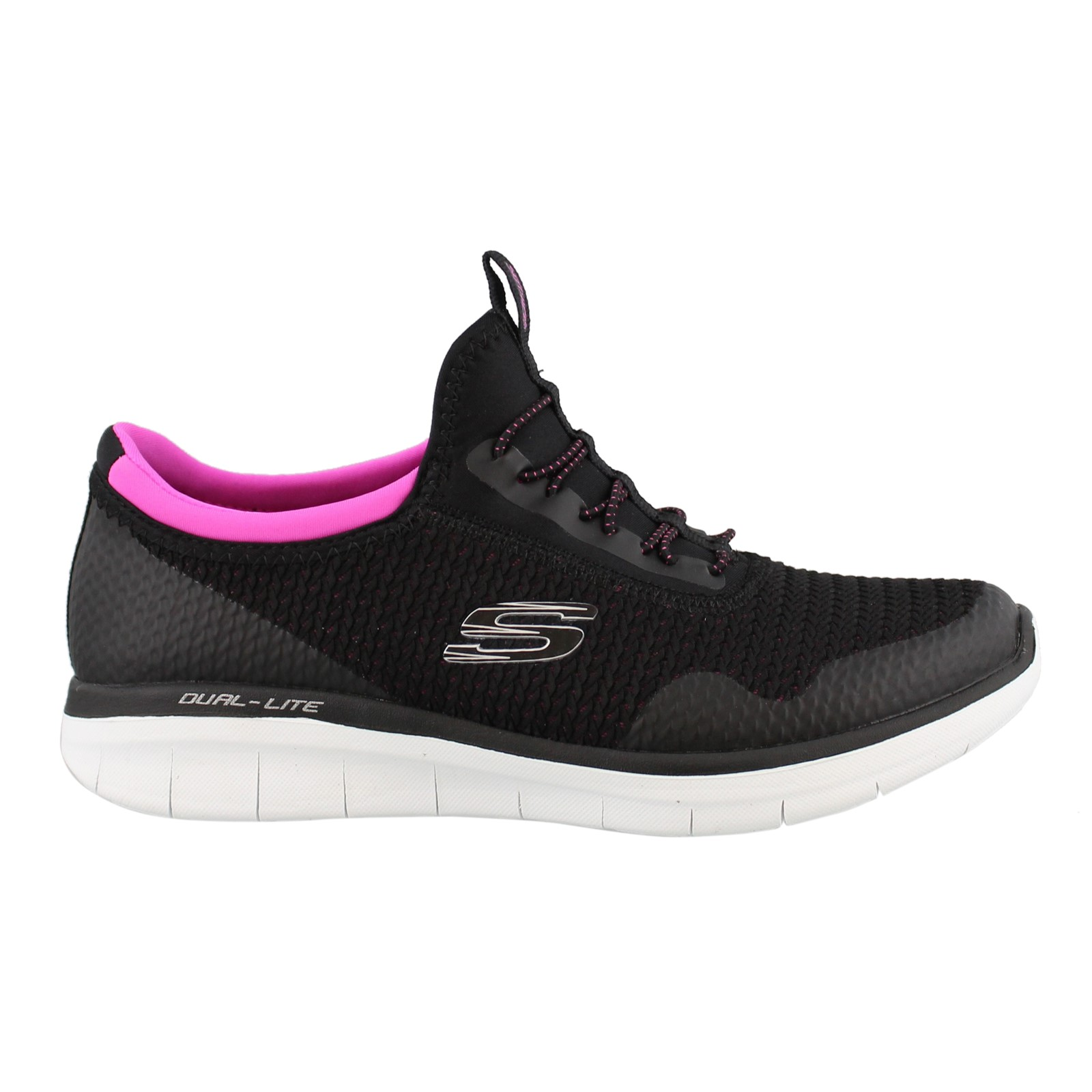 Women's Skechers, Synergy 2.0 Mirror Image Slip on Sneakers
