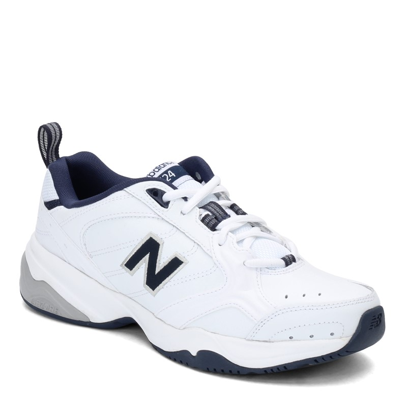 New Balance MX624 Men/'s Cross Training Shoes Casual Leather Trainers White
