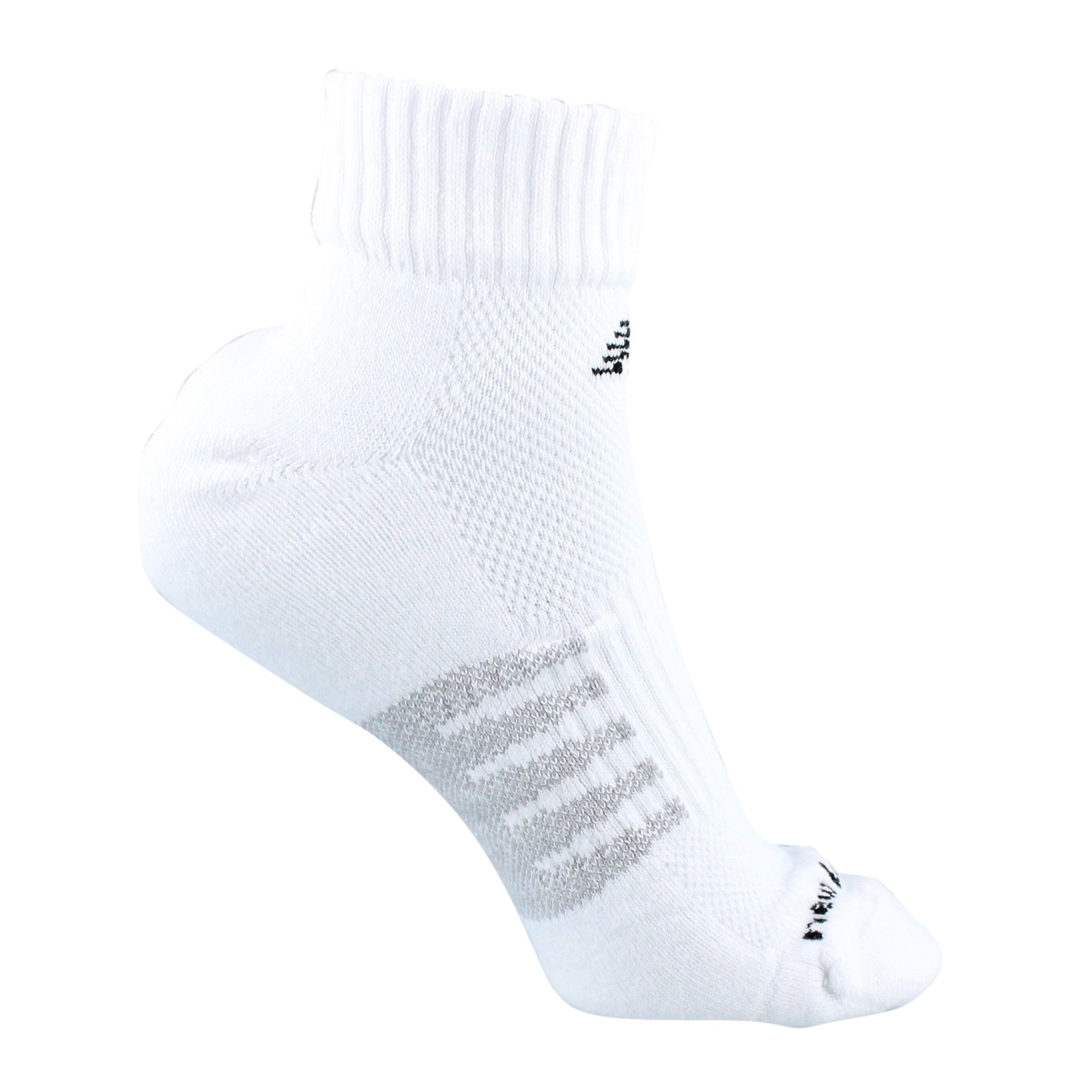 Men's New Balance, Core Cotton Quarter Length Socks - 3 Pack