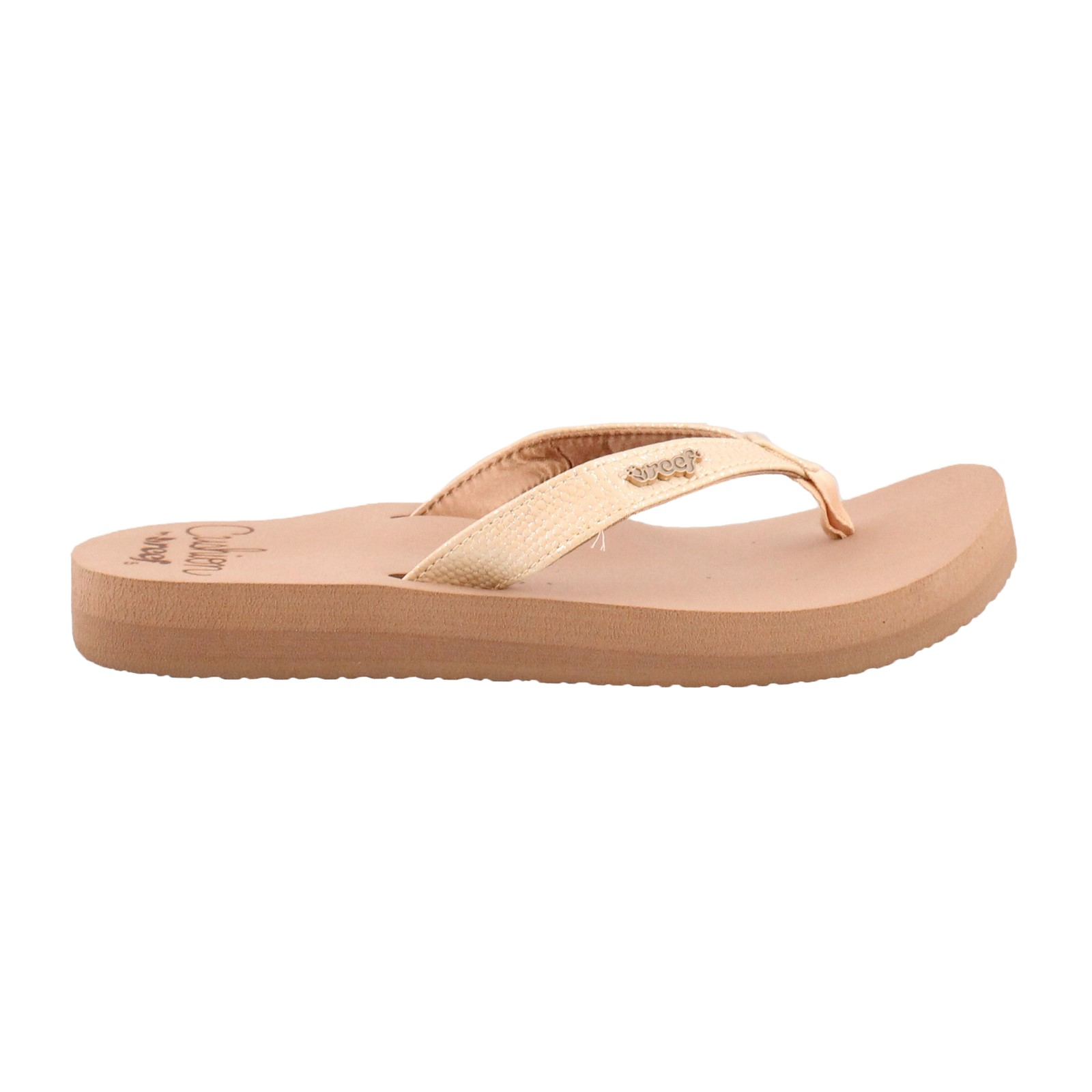 Women's Reef, Star Cushioned Thong Sandals