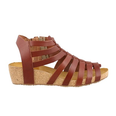 Women's Eric Michael, Rose Low Heel Sandal