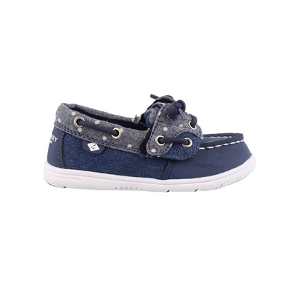 Girl's Sperry Kids, Shoresider Jr Boat Shoes