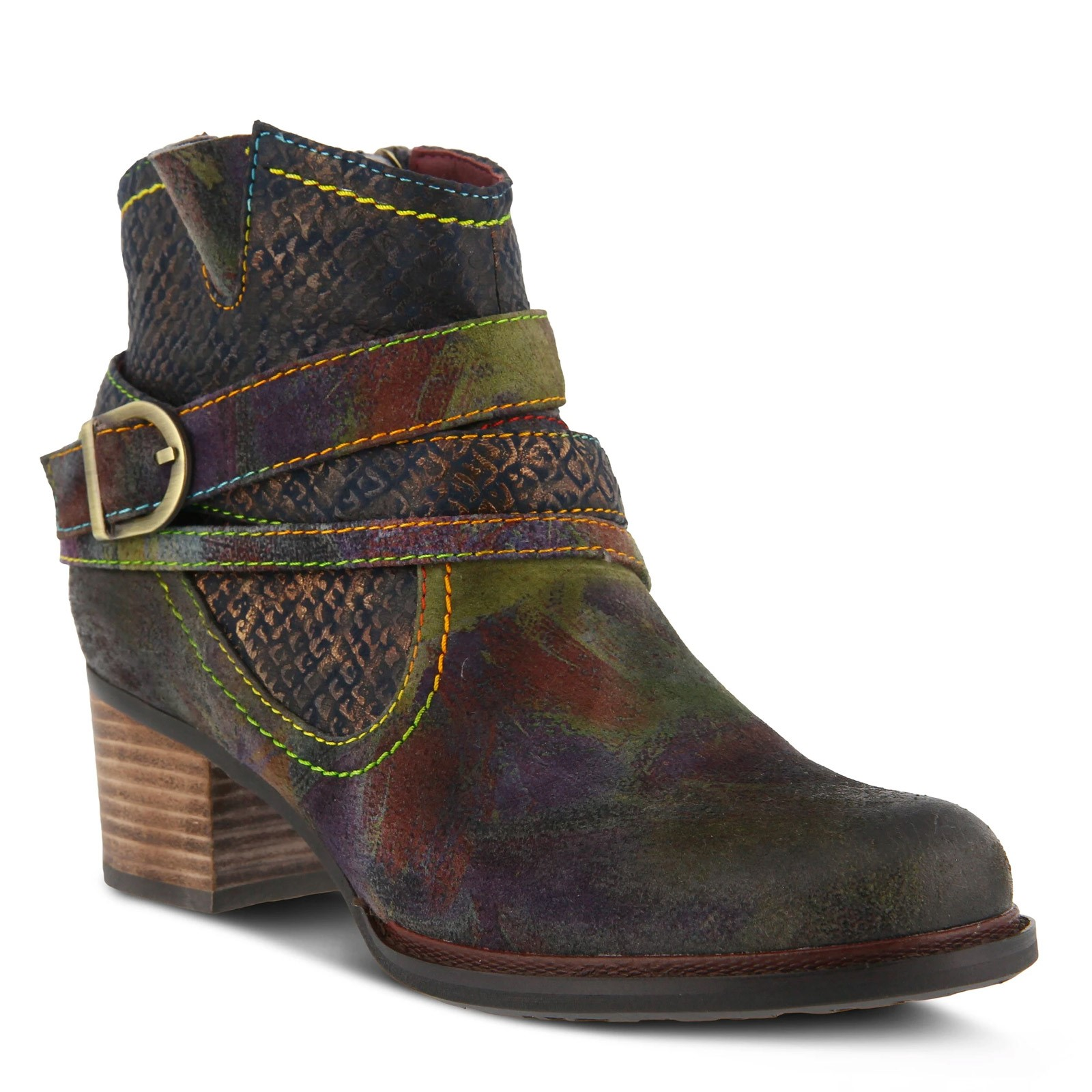 Women's L'Artiste by Spring Step, Shazzam Ankle Boot