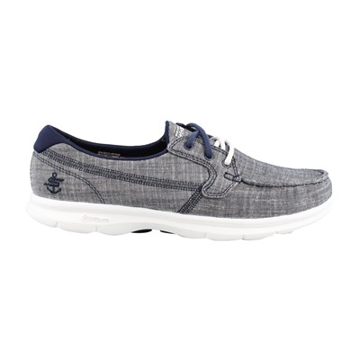 Women's Skechers Performance, Go Step Marina Lace up Boat Shoes