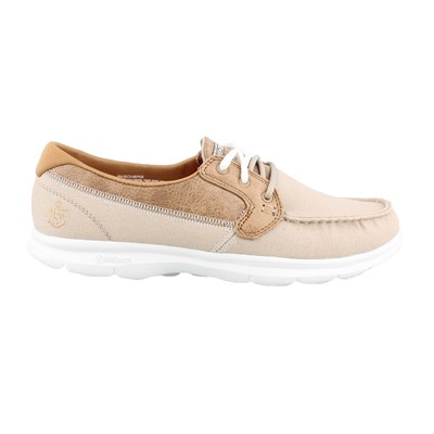 Women's Skechers Performance, Go Step Seashore Lace up Boat Shoes