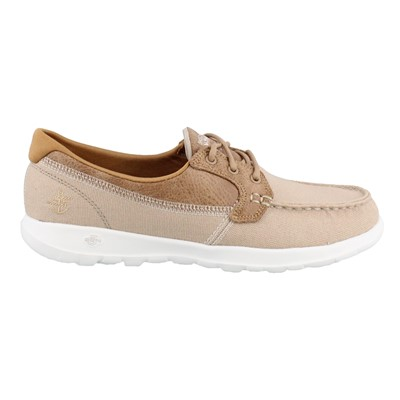 Women's Skechers Performance, Go Walk Lite Coral Boat Shoes