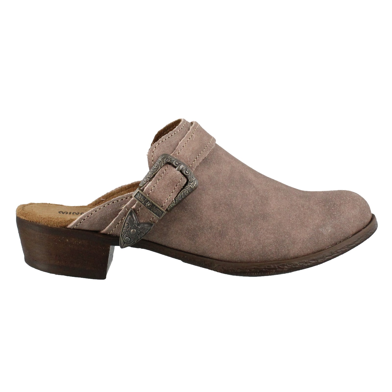 Women's Minnetonka, Billie slip on casual clogs