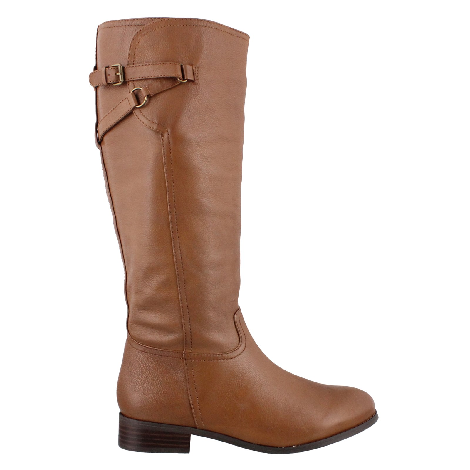 Women's Trotters, Lucky Too Riding Boot Wide Shaft