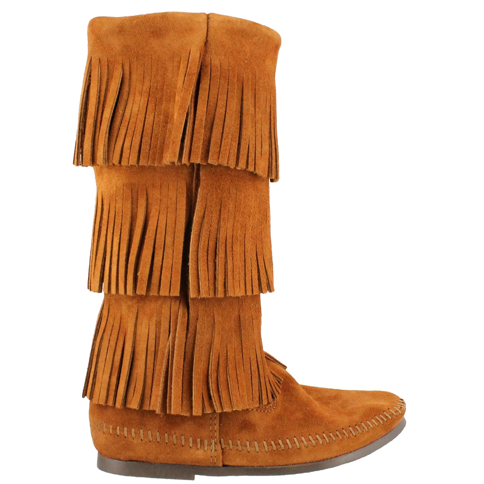 WOMEN'S 3-LAYER FRINGE CALF HI 1632