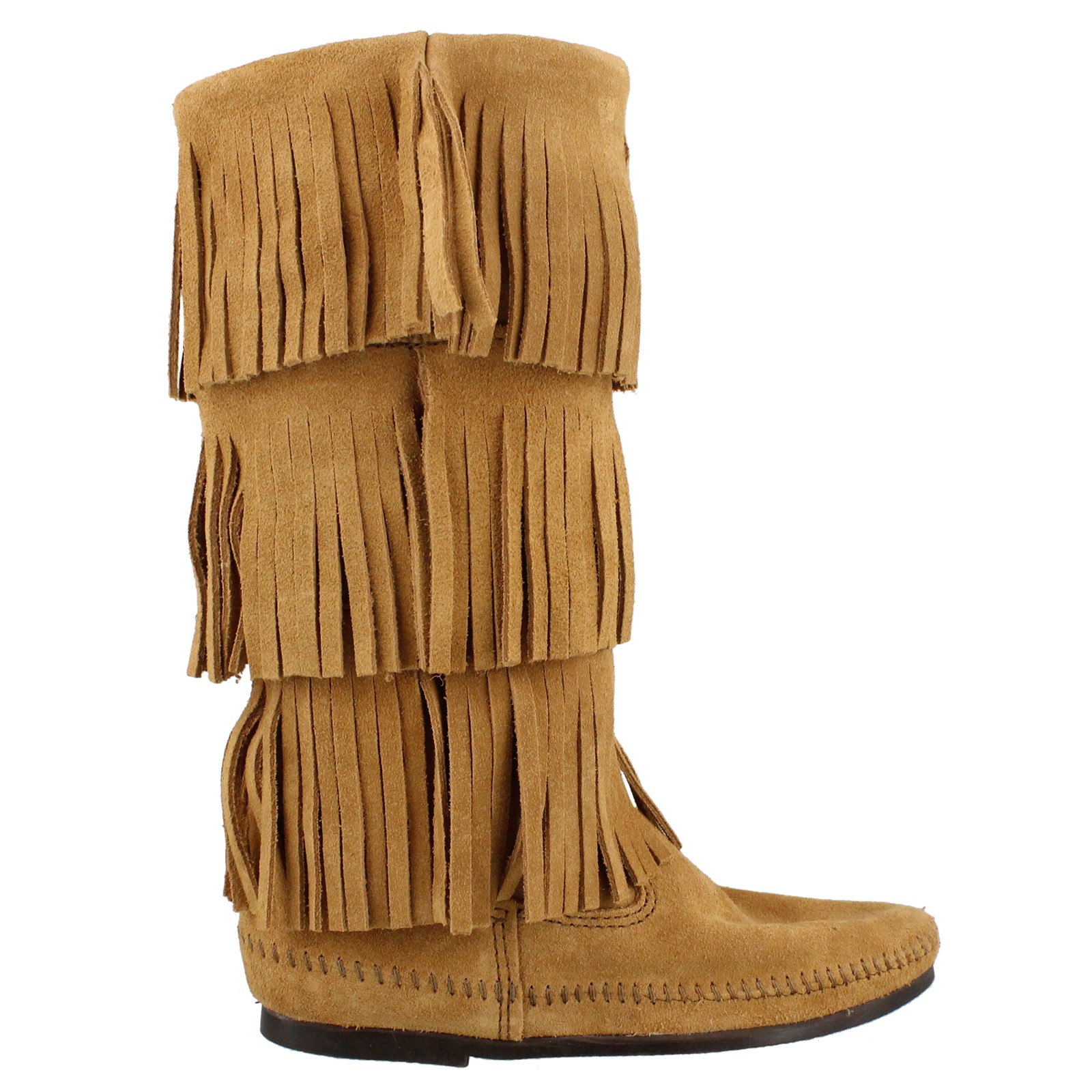 Women's Minnetonka, 3 Layer Fringe Boot