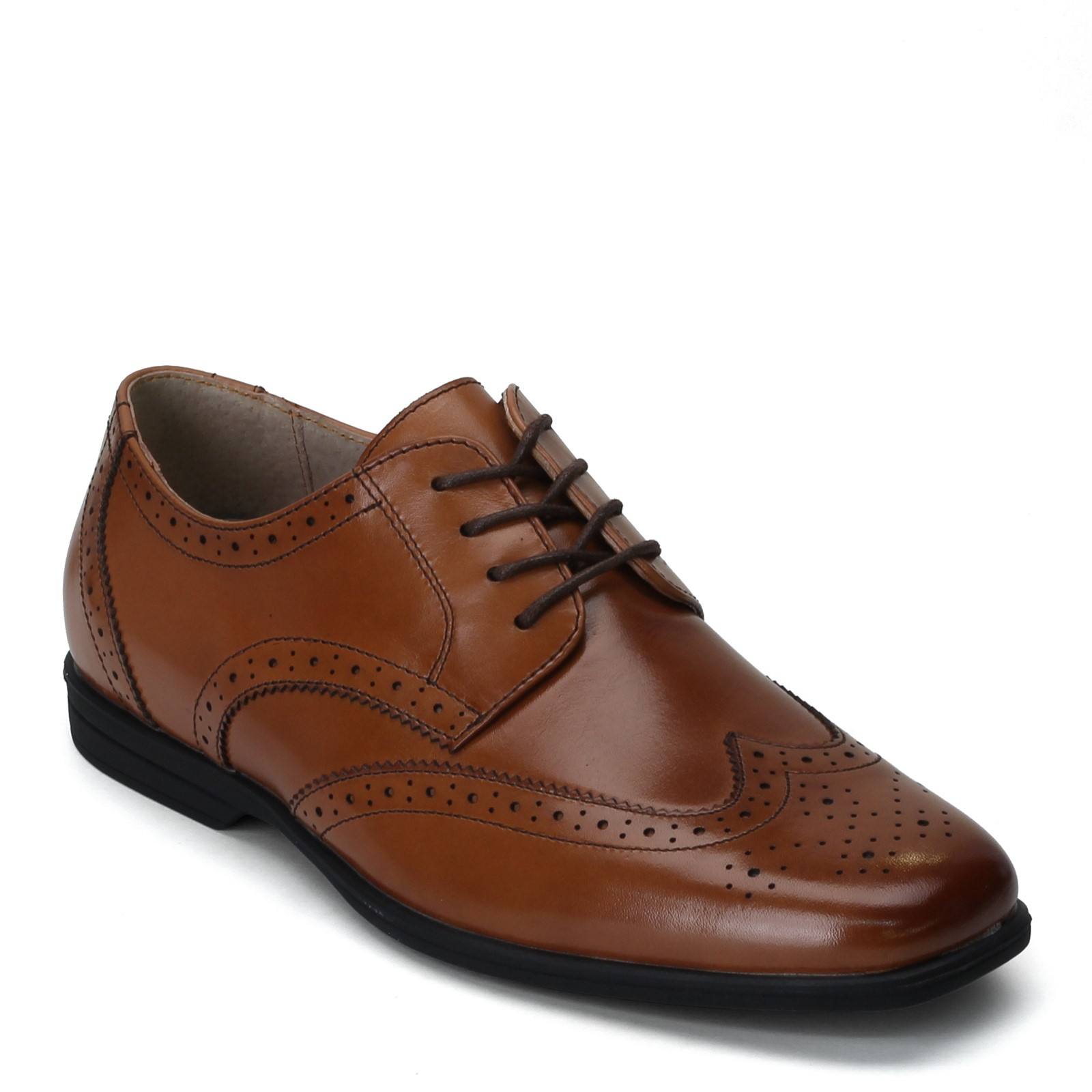 Boy's Florsheim, Reveal Wing Tip Jr Dress Shoe - Big Kid