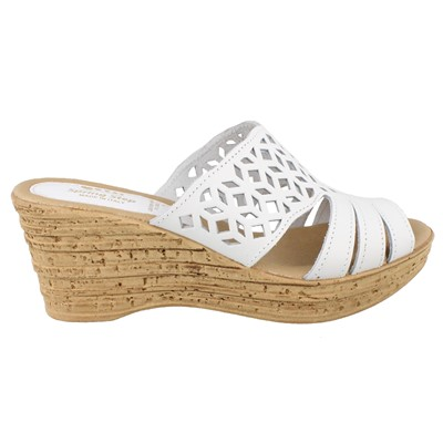 Women's Spring Step, Vino Mid Heel Wedge slides