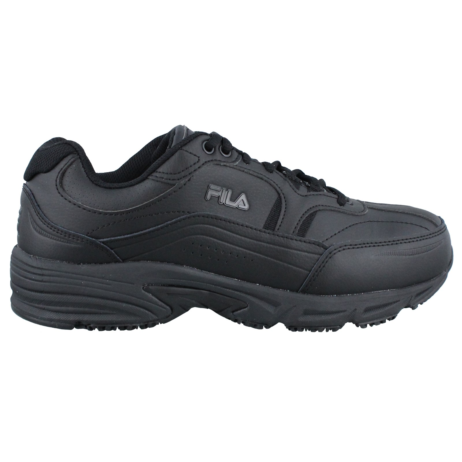 Men's Fila, Memory Workshift Slip Resistant Composite Toe Work Shoe Wide Width