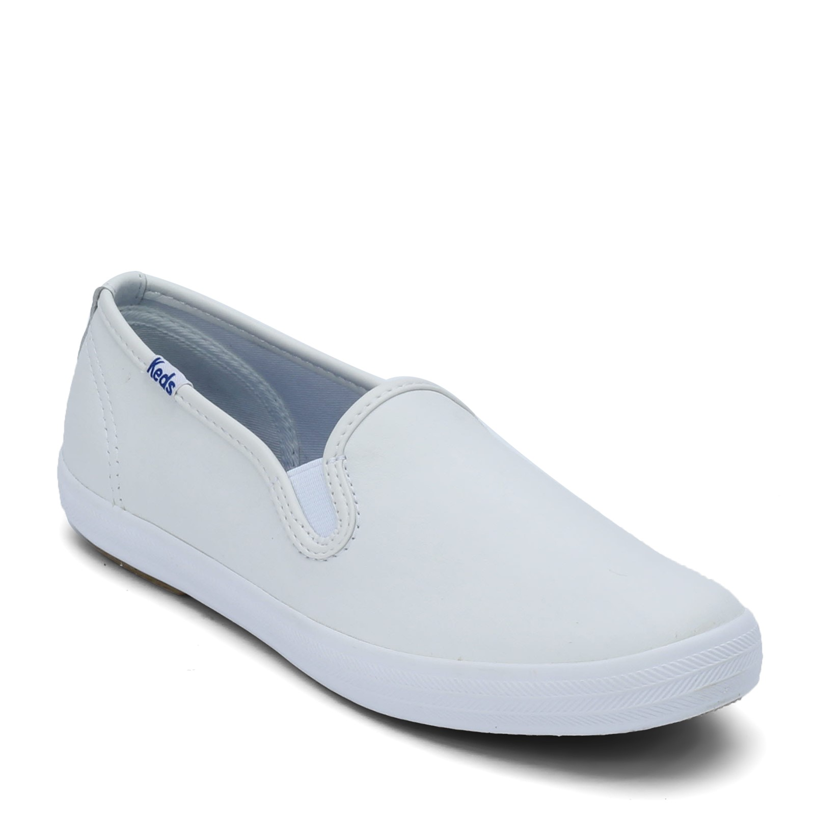 Women's Keds, Champion Leather Slip-On