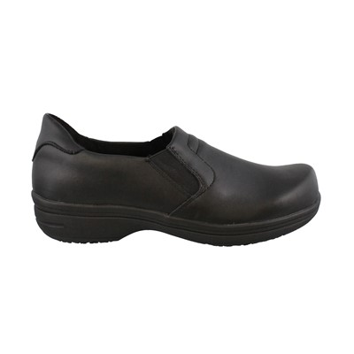 Women's Easy Works by Easy Street, Bind Slip on Work Shoes