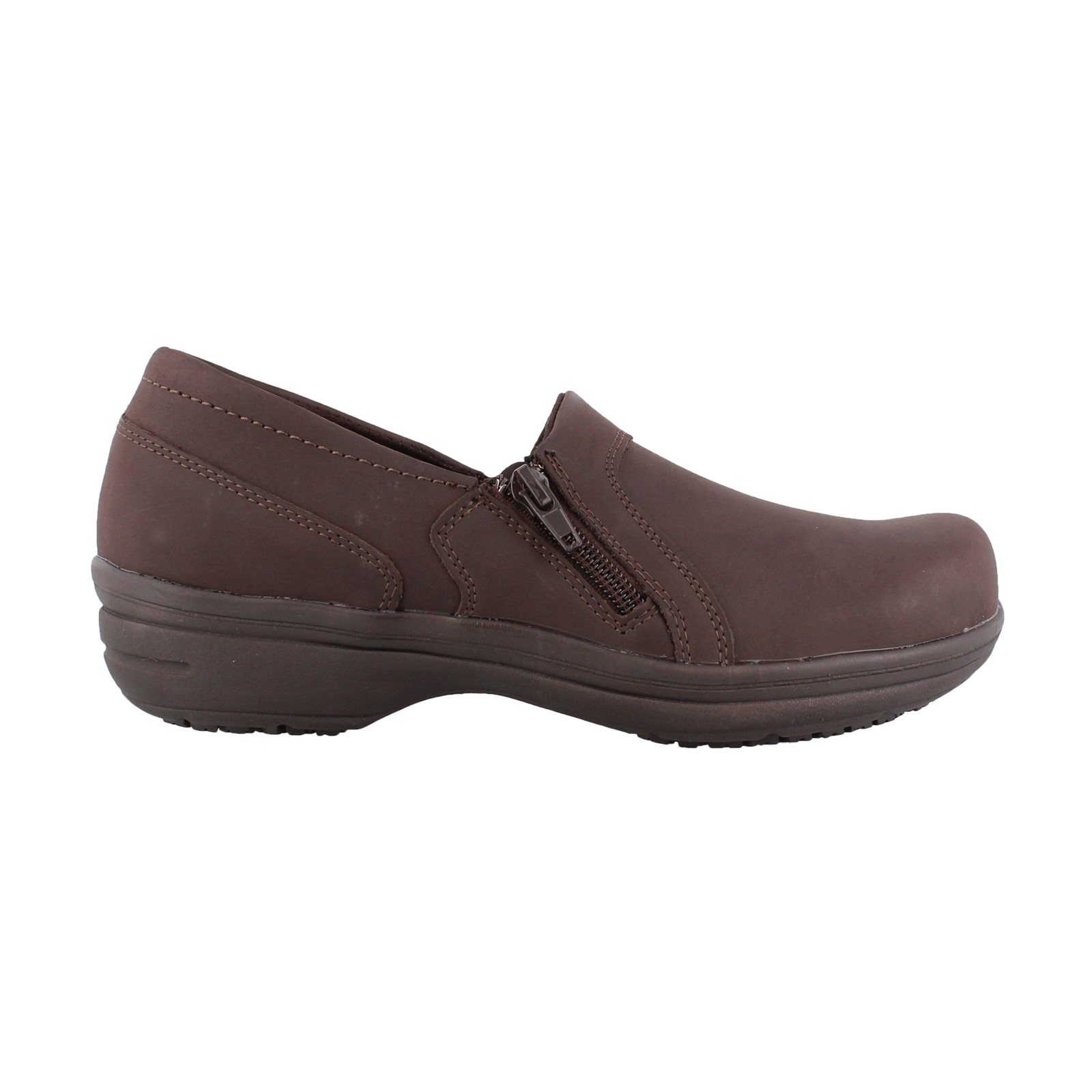 Women's Easy Works by Easy Street, Bentley Slip on Work Shoes