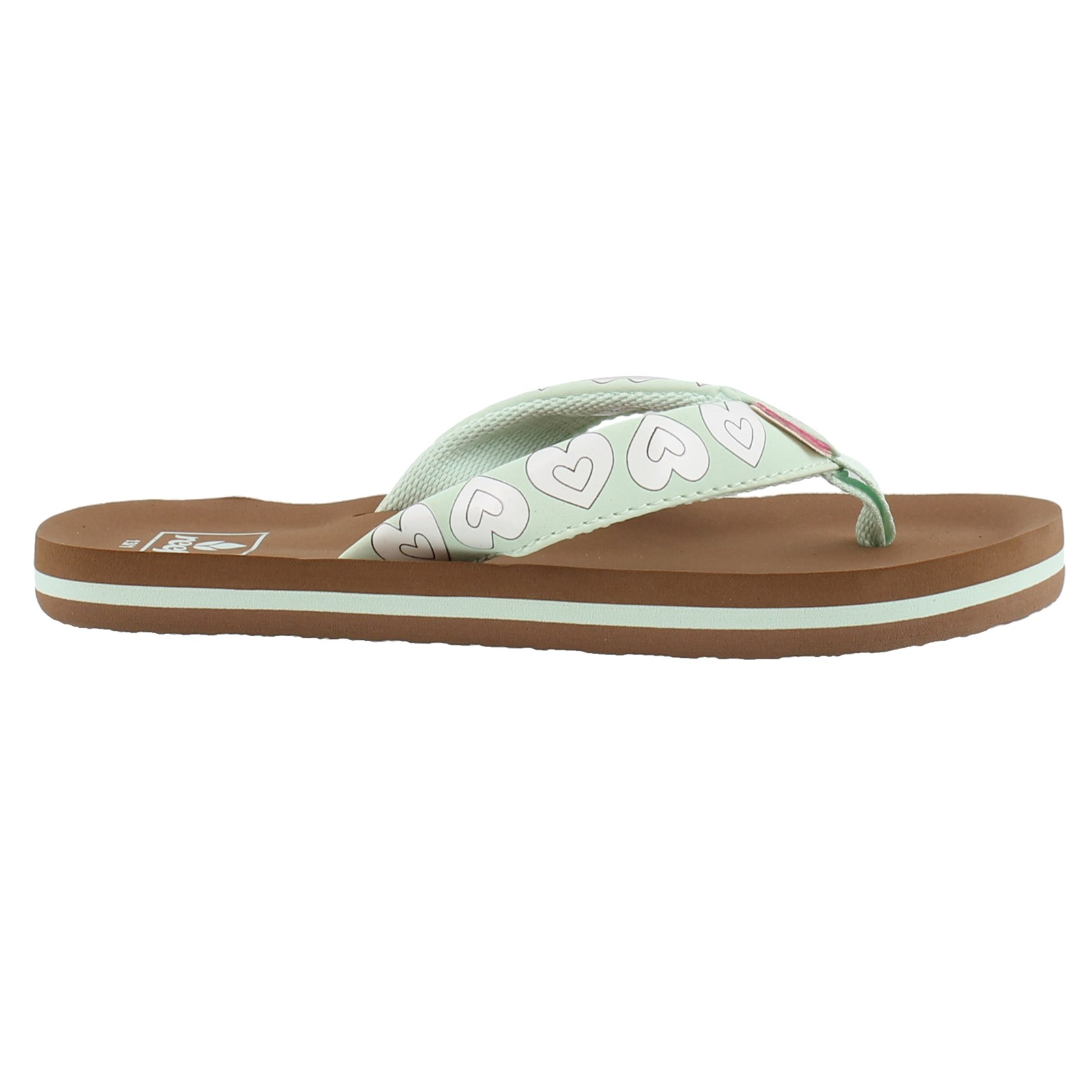 Girl's Reef, Little Ahi Color Changing Flip Flop - Toddler