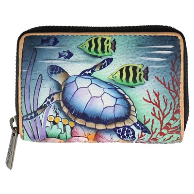 Anuschka, Ocean Treasures Wallet