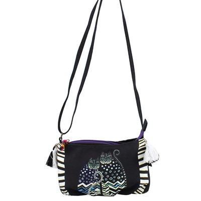Sun N Sand, Laurel Burch Artistic Mini Crossbody Purse